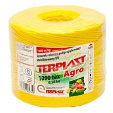 Sznurek TEX 1000 dł. 250 mb - żółty TERPLAST