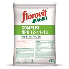 Nawóz Agro Complex NPK 12-11-18 25 kg Florovit