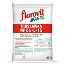 Nawóz Agro Truskawka NPK 5-5-15 25 kg Florovit