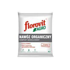 Nawóz organiczny kompost granulowany 25L Florovit Agro
