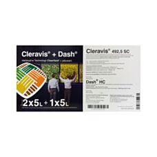 Zestaw 10L Cleravis 492,5SC + 5L Dash Basf